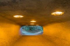 Túnel 3 do parque da descoberta fotografia de stock royalty free