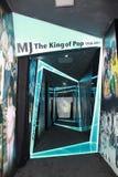 Túnel do tempo da vida da música de MJâs Imagens de Stock Royalty Free