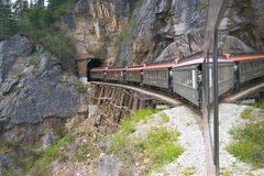 Túnel do trem imagens de stock