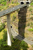 Túnel e estrada Fotografia de Stock