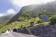 Túnel em Seixal imagens de stock royalty free