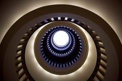 Túnel en cielo Imagen de archivo libre de regalías