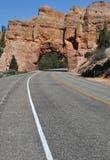 Túnel en la roca Imagenes de archivo