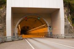 Túnel en la roca Imágenes de archivo libres de regalías