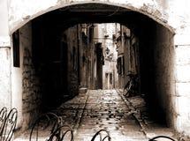 Túnel en Rovinj Croatia fotos de archivo libres de regalías