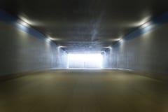 Túnel escuro imagens de stock royalty free
