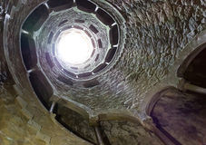 Túnel espiral Fotos de archivo