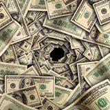 Túnel financiero Imagen de archivo libre de regalías