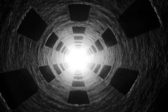 Túnel fotónico Foto de archivo