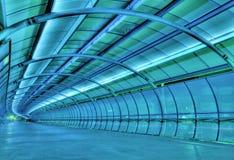 Túnel futurista Fotos de archivo libres de regalías