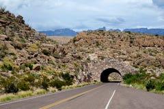 Túnel grande de la curva Foto de archivo