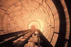 Túnel hipnótico Imagen de archivo libre de regalías