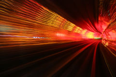 Túnel hipnótico Fotografía de archivo libre de regalías