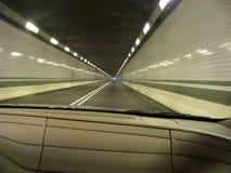 Túnel interno no Turnpike de Pensilvânia Fotos de Stock