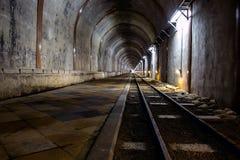 Túnel largo Foto de archivo
