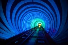 Túnel luminoso de Shangai; Foto de archivo