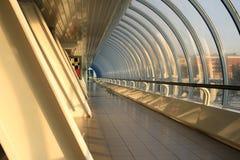 Túnel moderno del puente Imagen de archivo