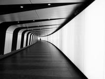 Túnel na estação de St Pancras, Londres Fotografia de Stock Royalty Free