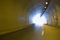 Túnel na estrada de Egnatia, Greece fotos de stock
