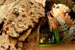 Túnel natural tailandés Fotos de archivo