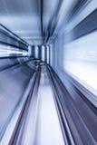 Túnel NYC del subterráneo Foto de archivo