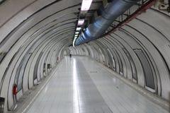 Túnel NYC do metro Imagens de Stock