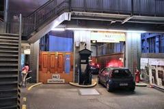Túnel o St viejo Pauli Elbe Tunnel de Elba fotos de archivo libres de regalías