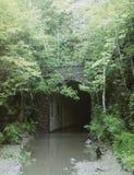 Túnel ocultado foto de archivo