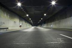 Túnel oscuro Foto de archivo libre de regalías
