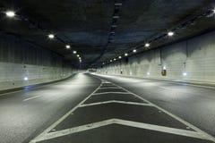 Túnel oscuro Imagen de archivo libre de regalías