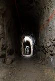 Túnel oscuro Fotografía de archivo