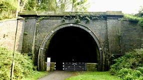 Túnel oscuro Imagen de archivo