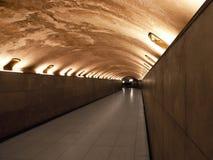 Túnel peatonal Fotos de archivo