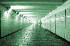 Túnel peatonal Imagen de archivo