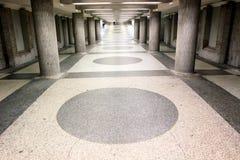 Túnel peatonal Fotografía de archivo libre de regalías