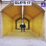 Túnel peatonal con la luz Imagen de archivo libre de regalías