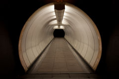 Túnel pedestre Fotos de Stock Royalty Free