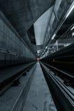 Túnel profundo del metro Imagen de archivo
