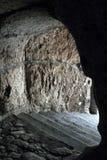Túnel que lleva a la costa de Sorrento Imagen de archivo libre de regalías