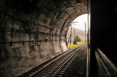 Túnel Railway Imagem de Stock