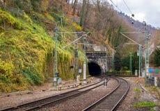 Túnel Railway em Heidelberg, Alemanha foto de stock