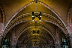 Túnel sob o Rijksmuseum Imagem de Stock Royalty Free