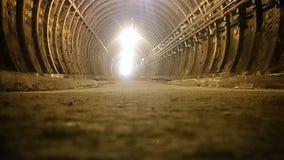 Túnel subterráneo de Londres Fotografía de archivo libre de regalías