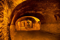 Túnel subterráneo para el tráfico, Guanajuato, México Imagenes de archivo