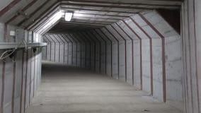 Túnel subterrâneo vídeos de arquivo