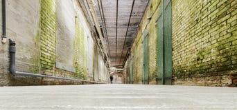 Túnel subterrâneo de Alcatraz, San Francisco, Califórnia Fotografia de Stock Royalty Free