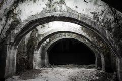 Túnel subterrâneo velho Fotografia de Stock Royalty Free