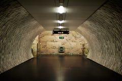 Túnel suburbano imagem de stock royalty free