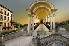 Túnel surrealista Fotografía de archivo