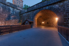 Túnel a través de la pared Foto de archivo